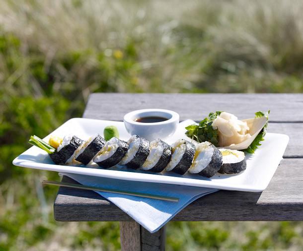 sushi mit mango und mozzarella sansibar sylt rezept chefkoch rezepte auf. Black Bedroom Furniture Sets. Home Design Ideas