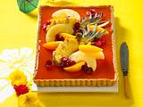 Sweet Sunrise-Tarte Rezept