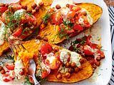 Sweet-Potatoe-Dreams und famose Mandelsoße Rezept
