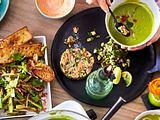 Ta-Ta-Lachstatar  zu Suppe oder Salat Rezept