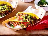 Tacos mit Huftsteak und Tomatensalsa Rezept