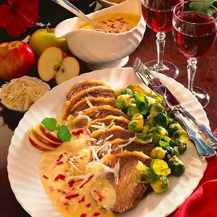 Tafelspitz mit Apfel-Meerrettich Rezept
