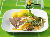 Tafelspitz mit Meerrettich (WM-Diät) Rezept