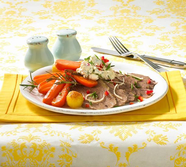 Tafelspitz mit Rosmarinkartoffeln Rezept