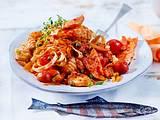 Tagliatelle al Salmone mit sizilianischem Sugo Rezept