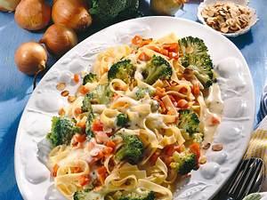 Tagliatelle mit Broccoli & Möhren Rezept