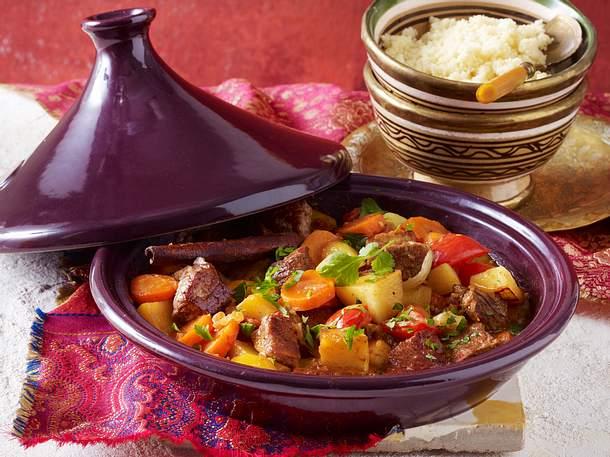 Tajine mit Rindfleisch und Kartoffeln Rezept