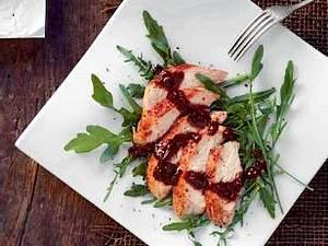 Tandoori Chicken auf Rucola (Frank Rosin) Rezept