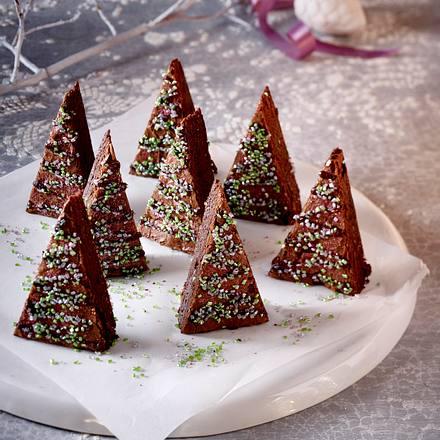 Rezept Tannenbaum.Tannenbaum Brownies