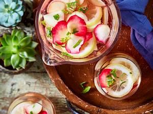 Tapasparty – Sangria rosé Rezept