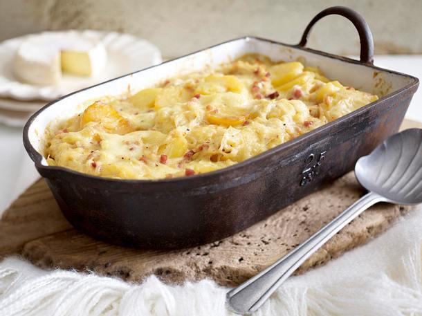 Tartiflette (überbackene Kartoffeln) Rezept