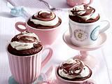 Tassenkuchen mit Nuss-Nougat-Creme Rezept