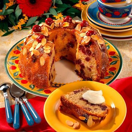 Tassenkuchen mit Schoko und Kirschen Rezept
