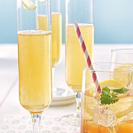 Tee-Drink mit Prosecco Rezept