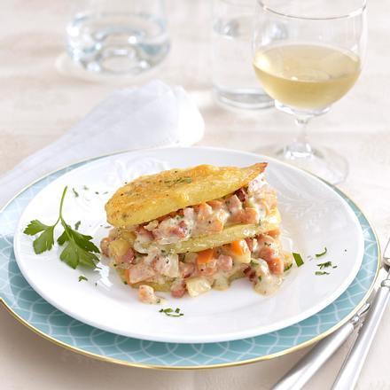 Teller-Kartoffel-Lasagne Rezept