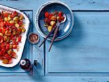 Tex-Mex-Kartoffelsalat aus dem Ofen Rezept