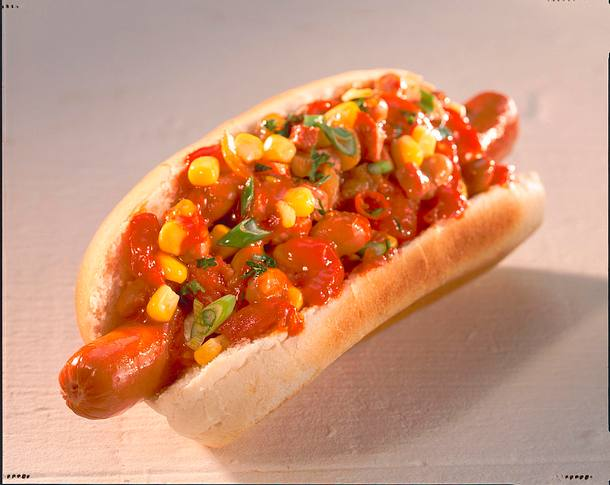 Texas Chili dogs Rezept