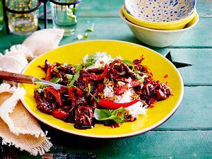 Thai Beef mit Basmatireis Rezept