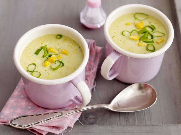 Thai-Kokos-Mais-Suppe Rezept