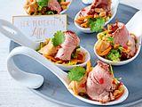 Thai-Schweinefilet mit Erdnuss-Soße Rezept
