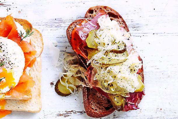 """The Reuben""-Sandwich Rezept"