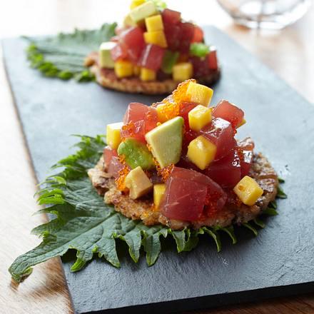 Thunfisch-Avocado-Sashimi Rezept