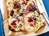 Thunfisch-Flammkuchen Rezept