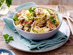 Thunfisch-Linguine mit Chili Rezept