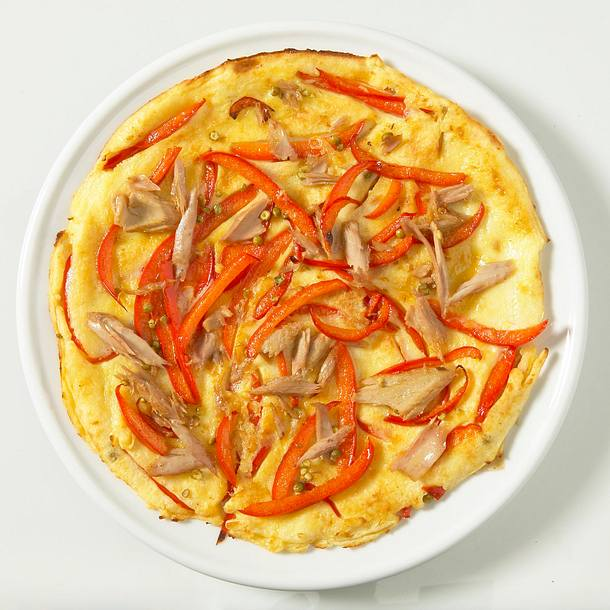 Thunfisch-Pfannkuchen Rezept