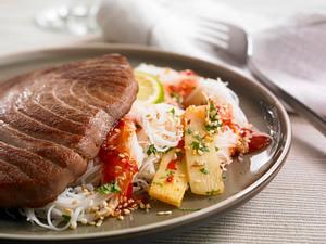 Thunfischsteak mit Asiasoße Rezept