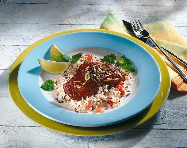 Thunfischsteaks mit Zitronengras und Tandoori Rezept