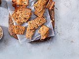 Thymian-Cracker aus Sauerteig Rezept