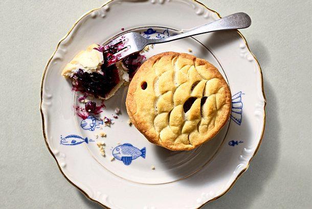 Tiefseetauglicher Blaubeer-Pie Rezept