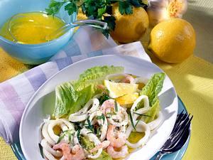 Tintenfisch-Salat Rezept