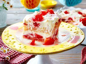 Tiramisu mit Balsamico-Erdbeeren Rezept