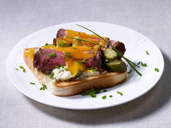 Toast auf englische Art Rezept