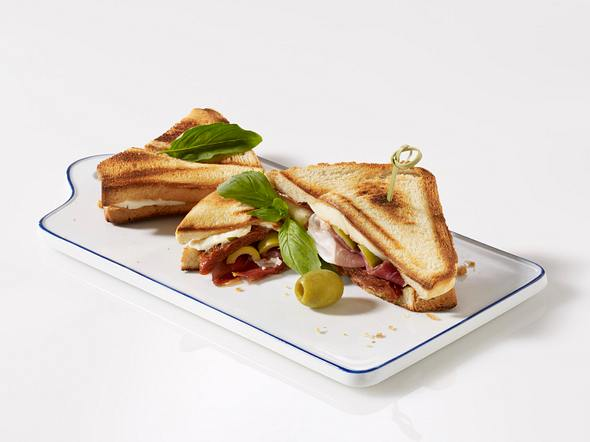 Toast Caprese (Sandwich) Rezept