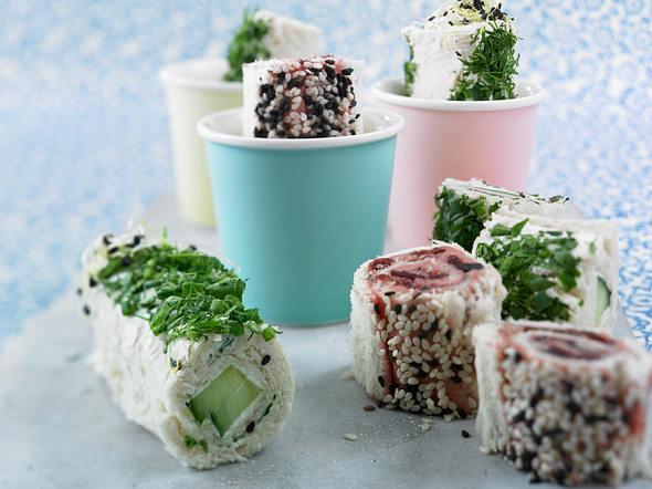 Toast-Sushi Rezept
