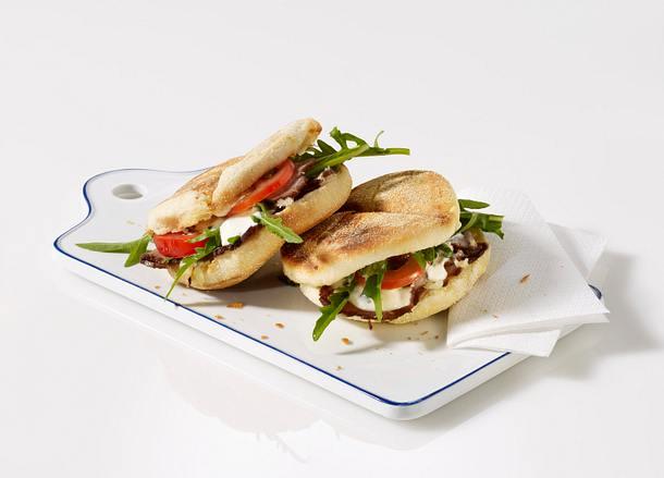 Toastie mit Roastbeef (Sandwich) Rezept