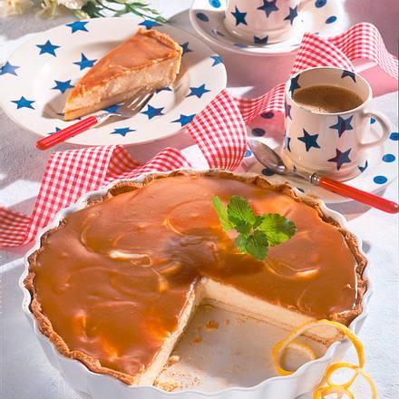 Toffee-Cheese-Pie Rezept