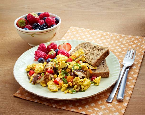 Tofu Breakfast Scramble Rezept