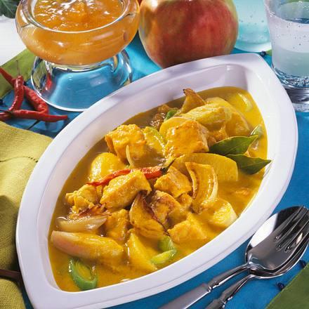 Tofu in Curry-Joghurt-Soße Rezept