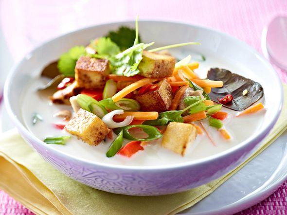 Tom Ka Tofu Rezept