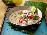 Tom Kaa Gai (Hühnersuppe mit Kokosmilch) Rezept