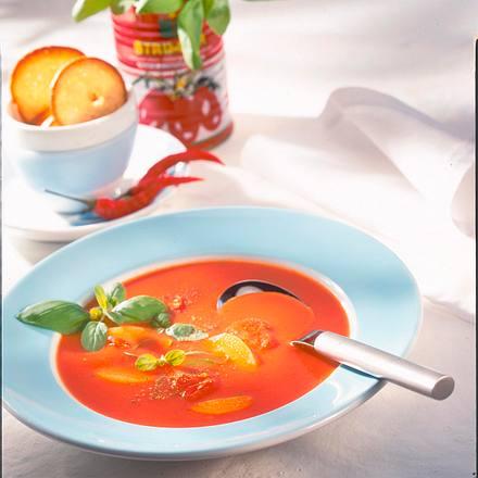 Tomaten-Aprikosen-Suppe Rezept