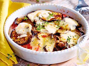 Tomaten-Auberginen-Auflauf mit Mozzarella Rezept-F6339901
