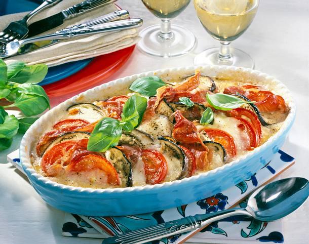Tomaten-Auflauf alla caprese Rezept