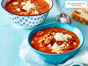 Tomaten-Bulgur-Suppe mit Blumenkohl Rezept