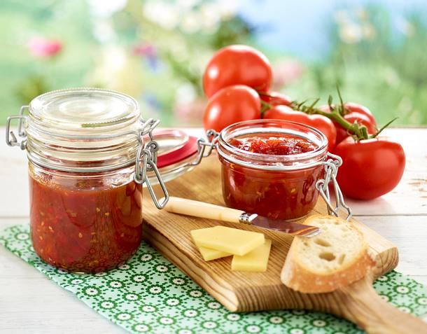Tomaten-Chili-Marmelade Rezept
