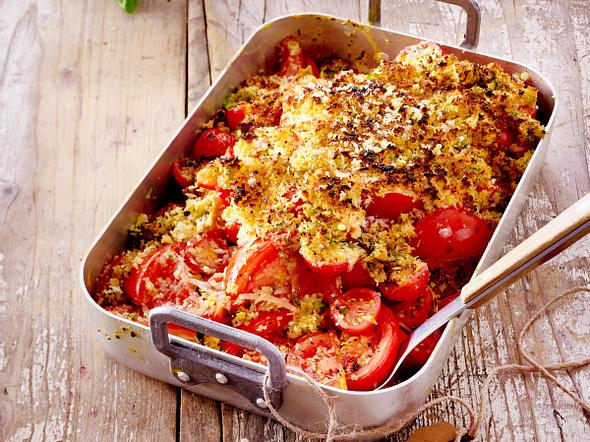 Tomaten-Crumble Rezept